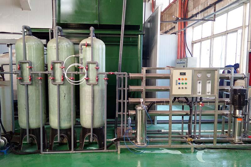 Sewage treatment station